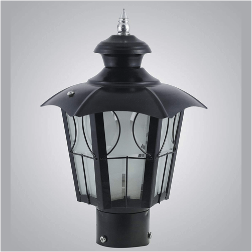 metal umbrella decorative gate light 1
