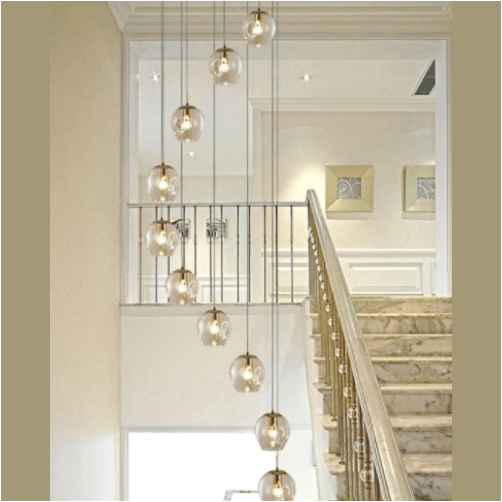 ordo staircase chandelier 1
