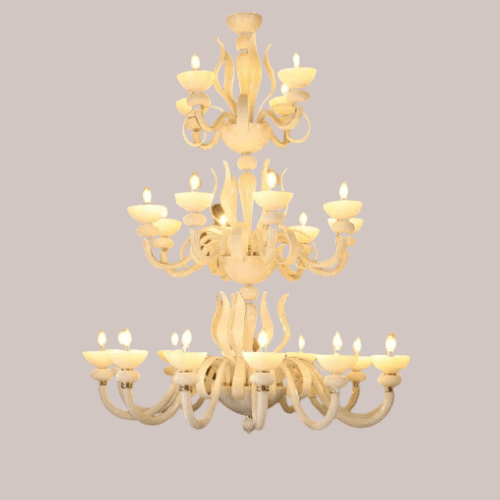 snowy sorceress long chandelier 3