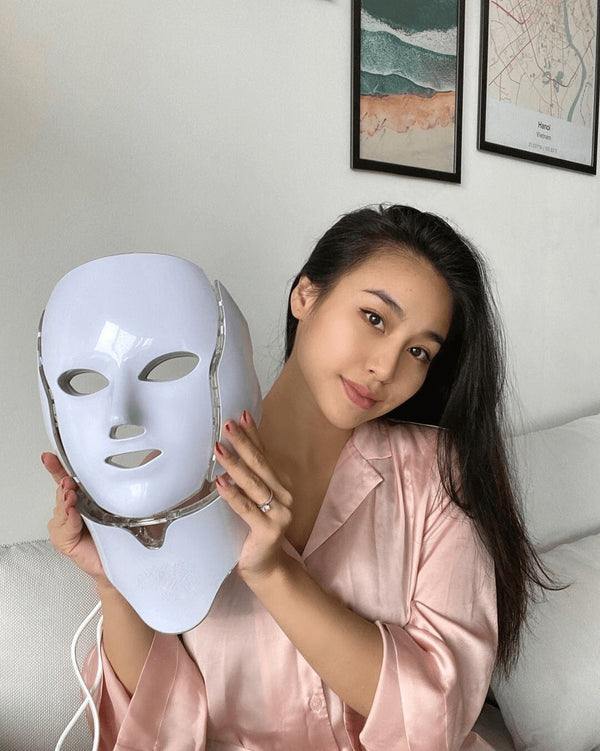 LED Face Mask Professional - 7 color led light Therapy AT Home!