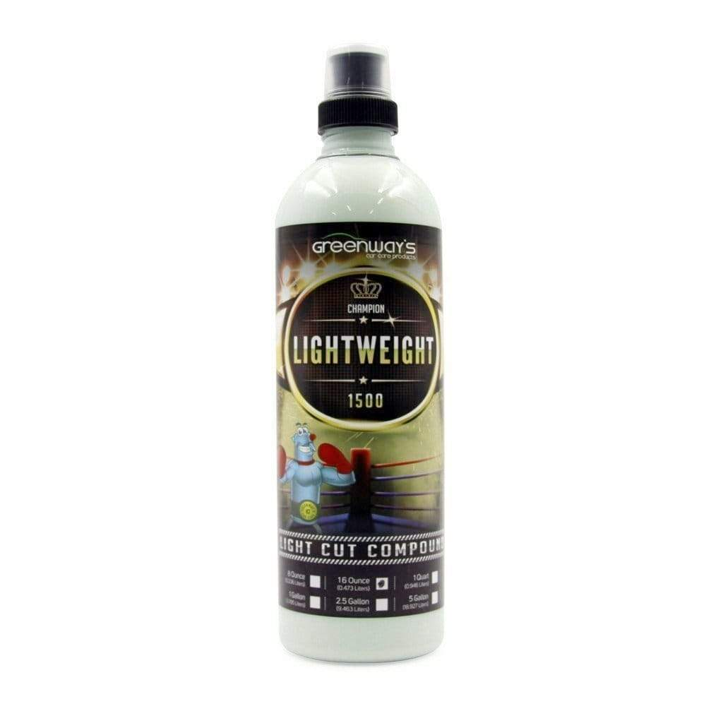 Greenway's Lightweight 1500 Cutting Compound - Greenway's Car Care Products