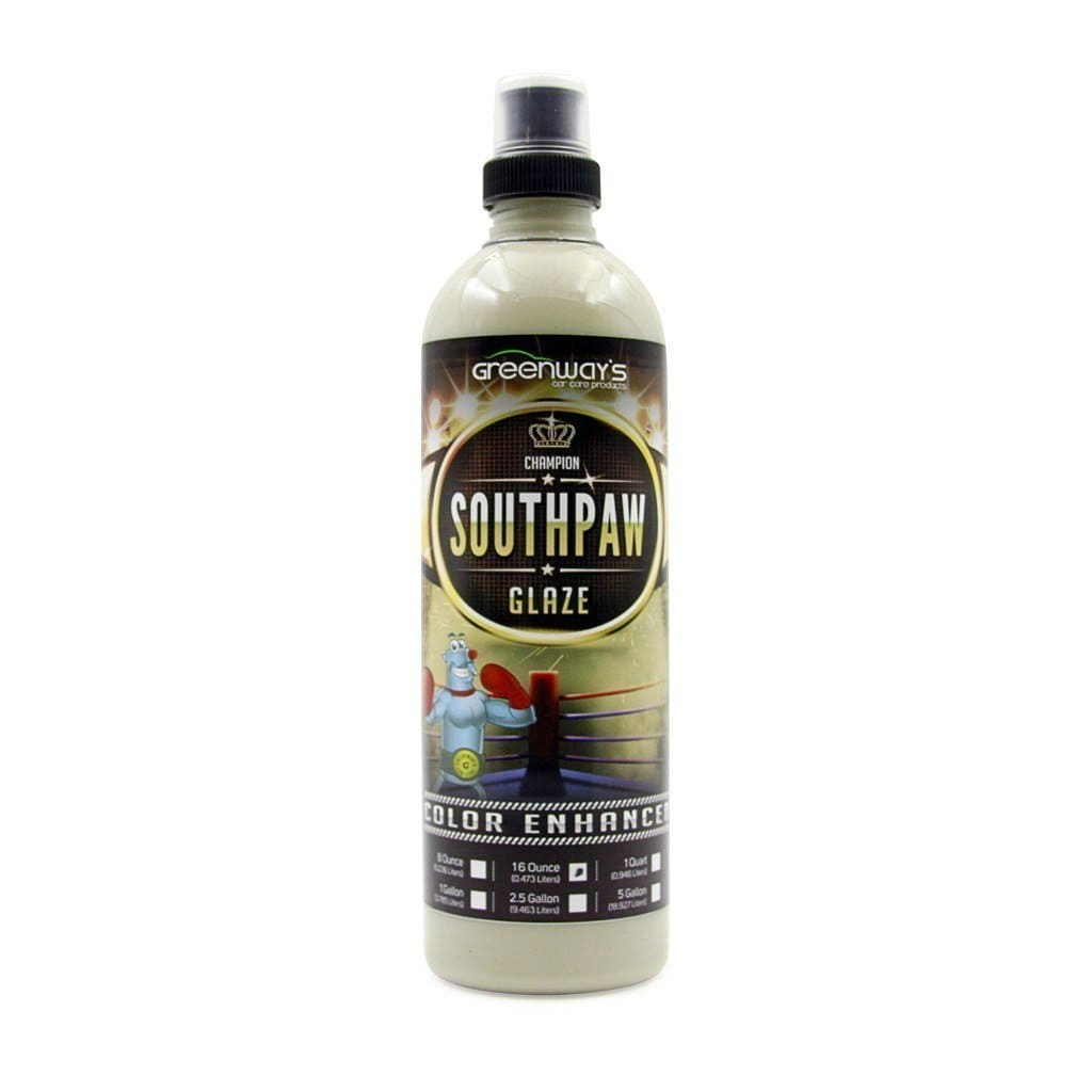Greenway's Southpaw Glaze - Greenway's Car Care Products