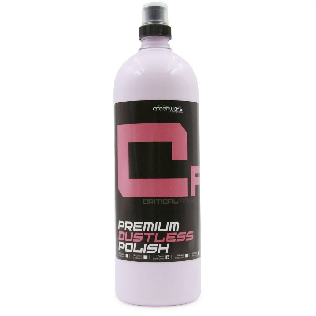 Greenway's Critical Finish Polish - Greenway's Car Care Products