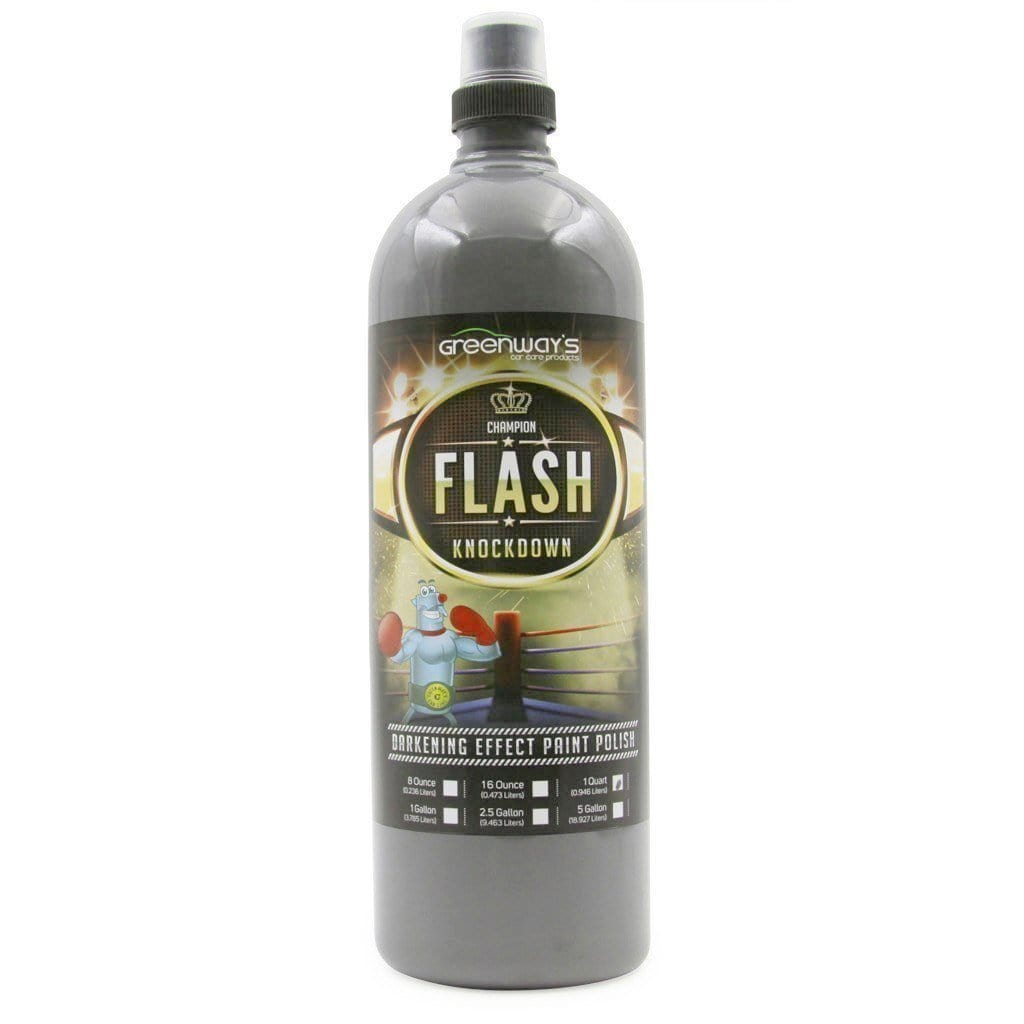 Greenway's Flash Knockdown Polish 32 Ounces- Greenway's Car Care Products