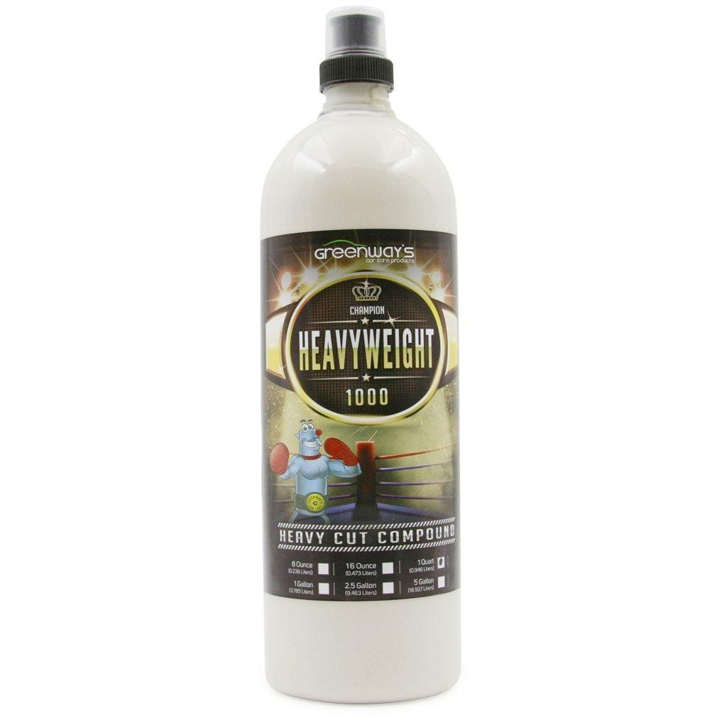 Greenway's Heavyweight 1000 Compound Cream - Greenway's Car Care Products