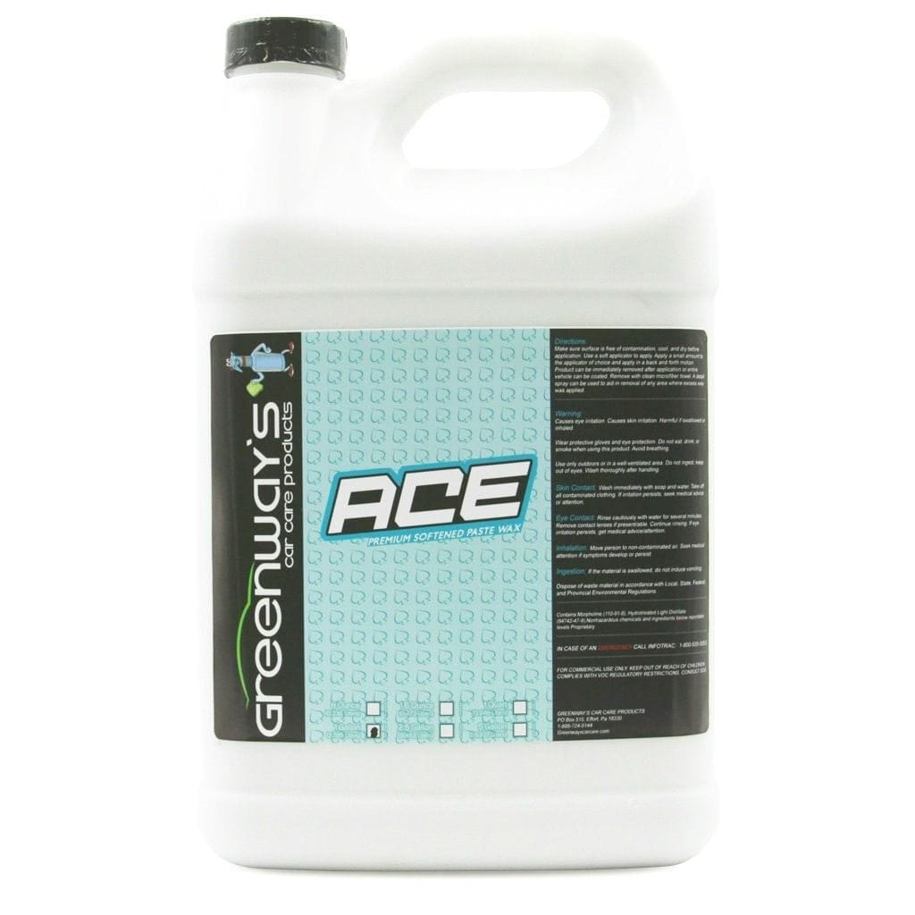 Greenway's Ace Premium Softened Paste Wax 1 Gallon Jug