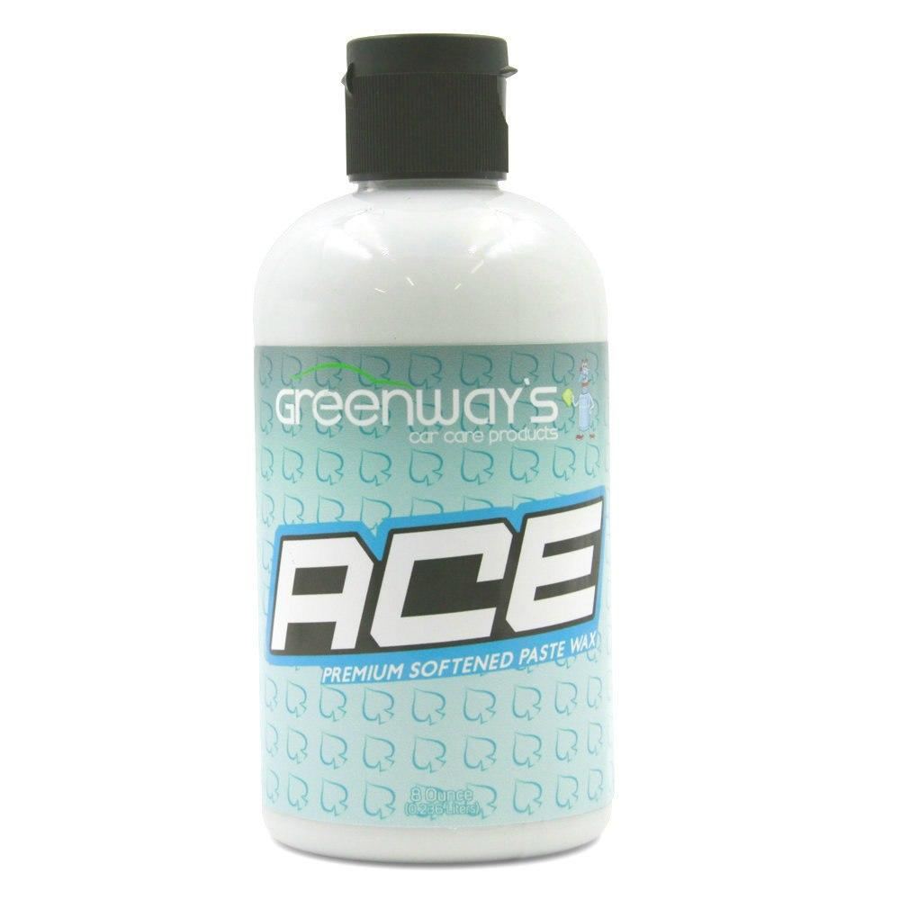 Greenway's Ace Premium Softened Paste Wax  8 Ounce Bottle- Greenway's Car Care Products