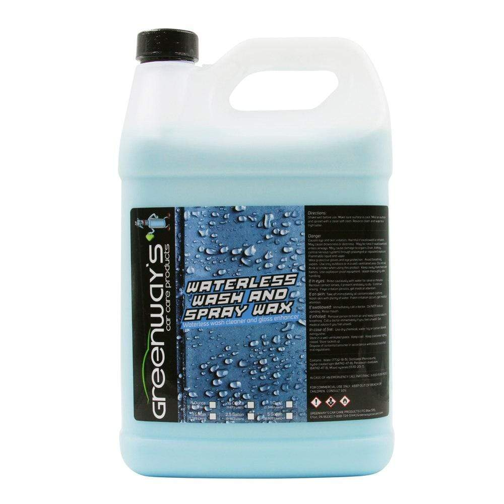 Greenway's Waterless Wash And Spray Wax - Greenway's Car Care Products