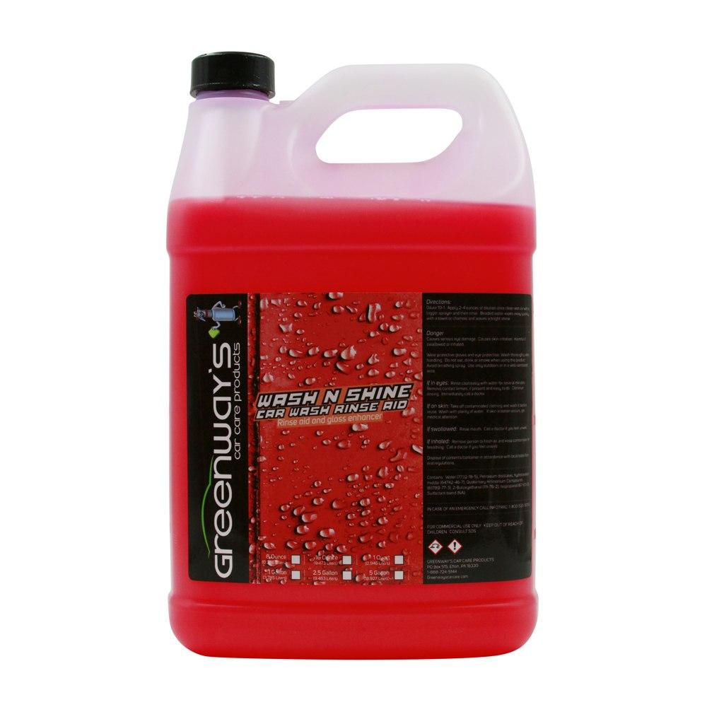 Greenway's Wash and Shine Rinse Aid - Greenway's Car Care Products
