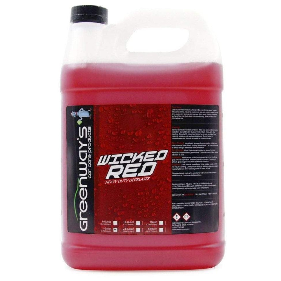 Greenway's Wicked Red Degreaser - Greenway's Car Care Products