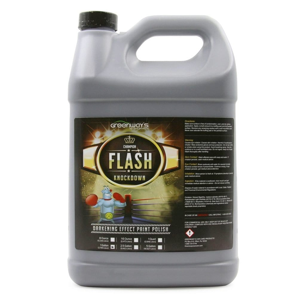 Greenway's Flash Knockdown Polish 1 Gallon - Greenway's Car Care Products