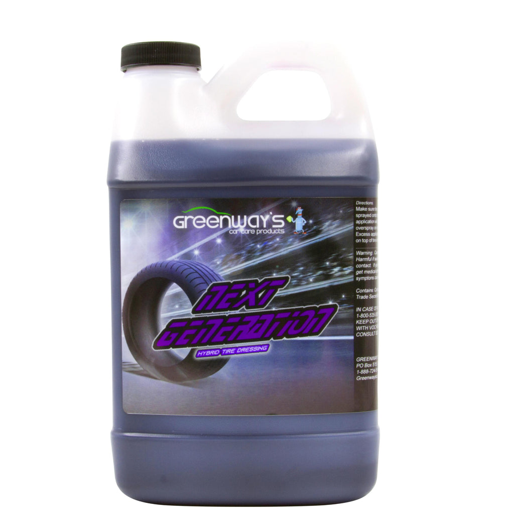 tire dressing 64 ounces high gloss shine