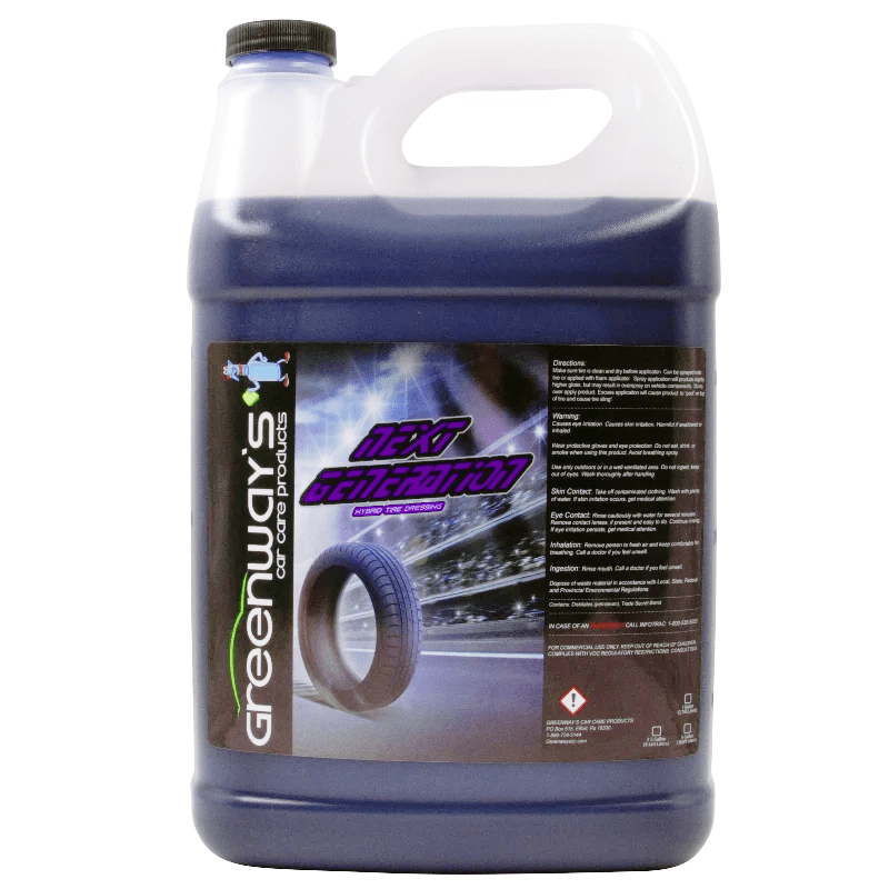 tire shine high gloss 1 gallon