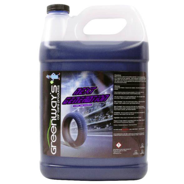 tire shine 1 gallon extreme shine no sling