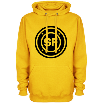SF Chest Roundel Gold Hoodie