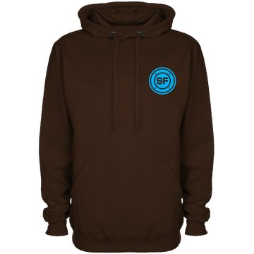 SF Pocket Roundel Dark Chocolate Hoodie
