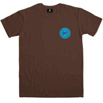 SF Pocket Roundel Dark Chocolate T-shirt