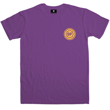SF Pocket Roundel Purple T-shirt