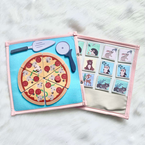 Pretty Childish:Pizza & Memory Game Page