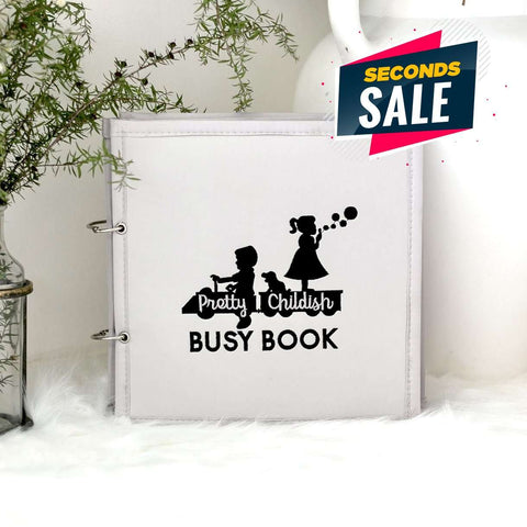 Pretty Childish:2NDS SALE - GREY 5 PAGE BUSY BOOK