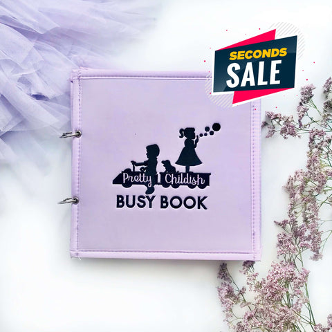 Pretty Childish:2NDS SALE - LILAC 5 PAGE BUSY BOOK