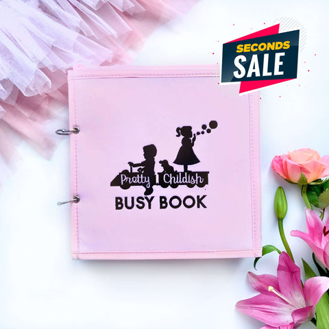 Pretty Childish:2NDS SALE - PINK 8 PAGE BUSY BOOK