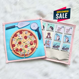 Pretty Childish:2NDS SALE -  Pizza & Memory Game (BLUE & PINK)