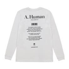 Load image into Gallery viewer, A. Human Logo SS19 Long Sleeve Tee