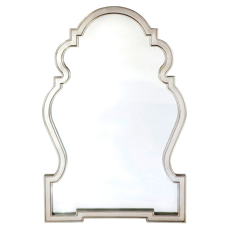 Paloma Wall Mirror - Antique Silver