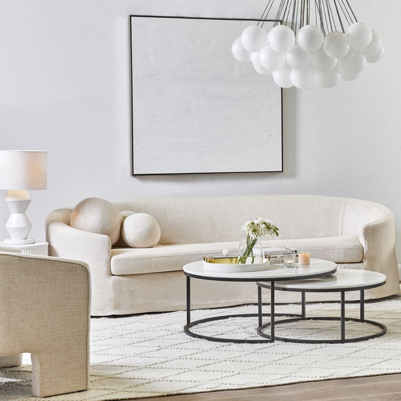 Chloe Nesting Coffee Table - Black