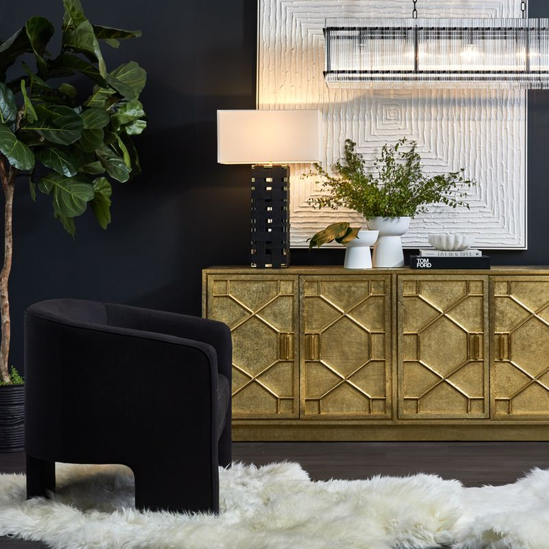 Kylie Occasional Chair - Black