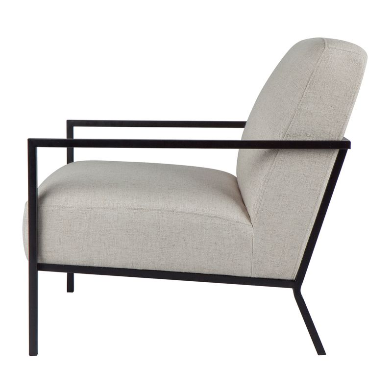 Hemming Occasional Chair - Natural Linen