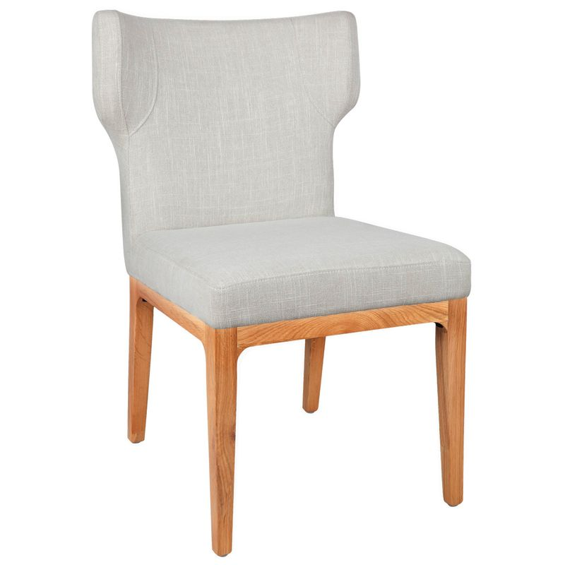 Ashton Natural Dining Chair - Natural Linen
