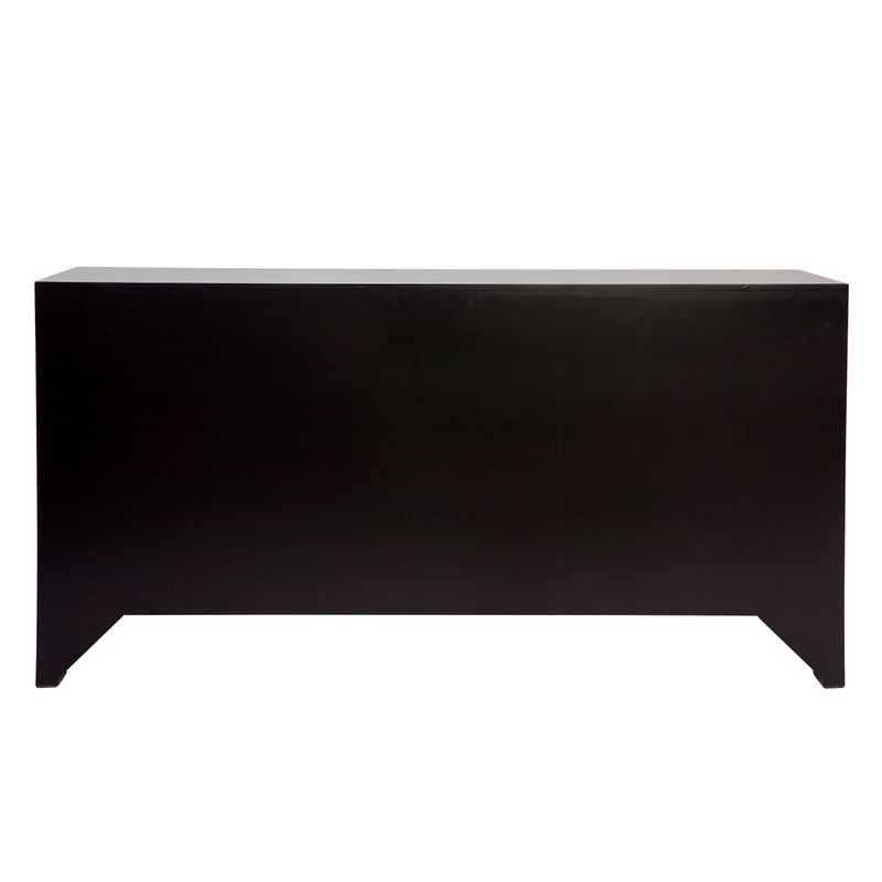 Ariana 6 Drawer Chest - Black
