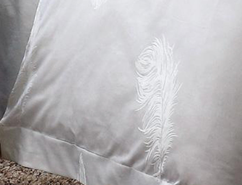 InterContinental Queen Quilt Cover Set - Feather