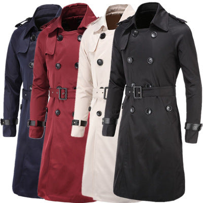 Double Breasted Trench Coat - A&J Fashion Boutique