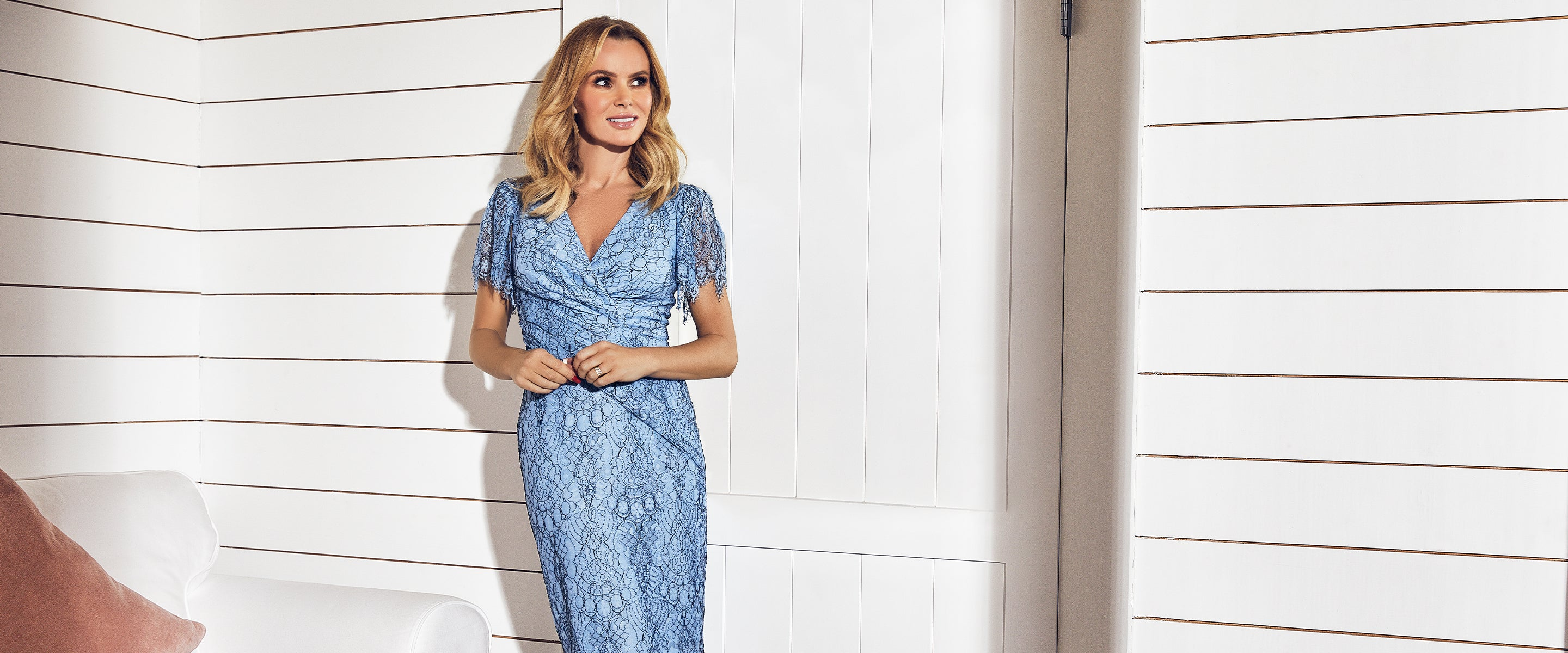 Amanda Holden and daughter Hollie discuss her 2020 Fenn Wright Manson collection