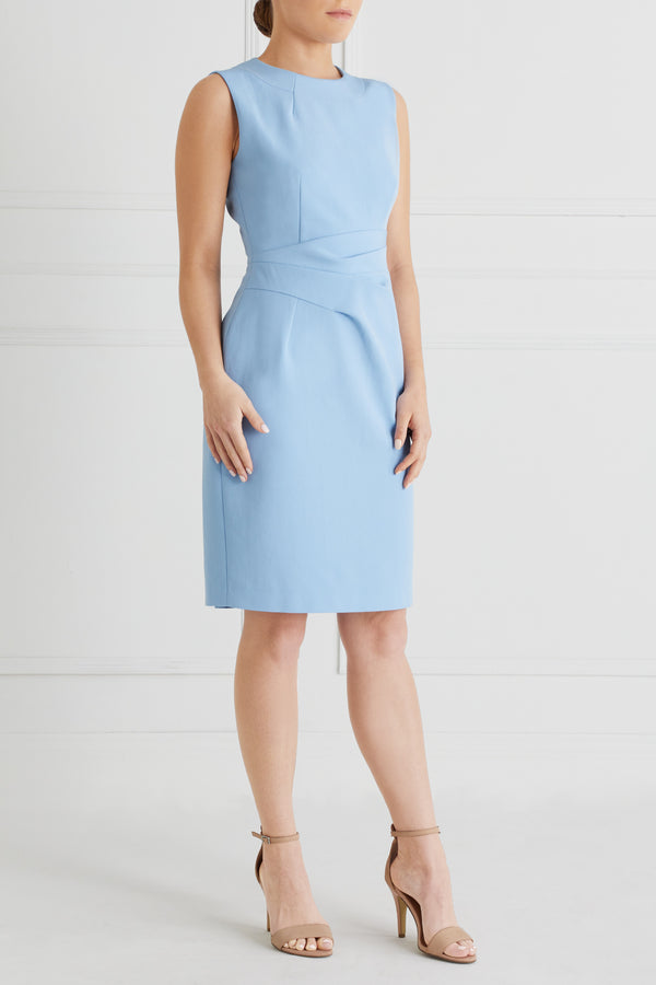 Martine Dress Petite, Pale Blue
