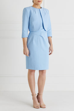 Martine Jacket Petite, Pale Blue