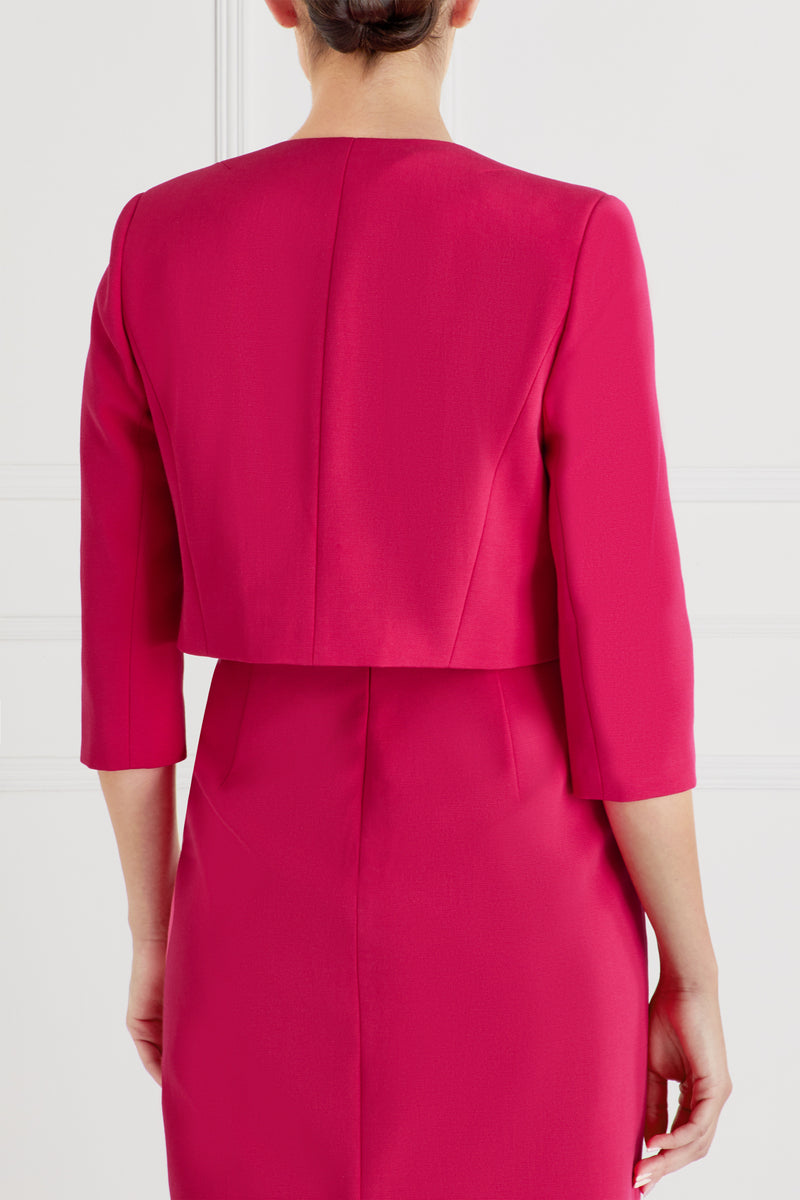 Martine Jacket, Raspberry