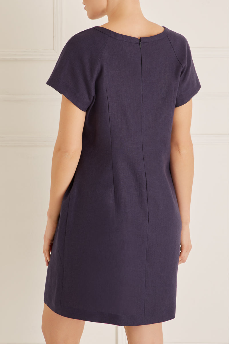 Santorini Dress Petite, Navy
