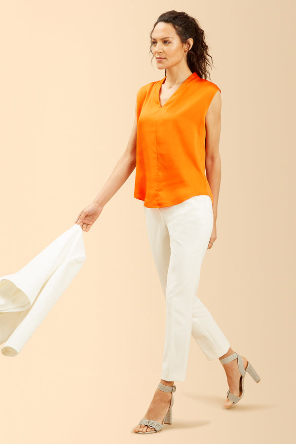 Martha Top, Orange