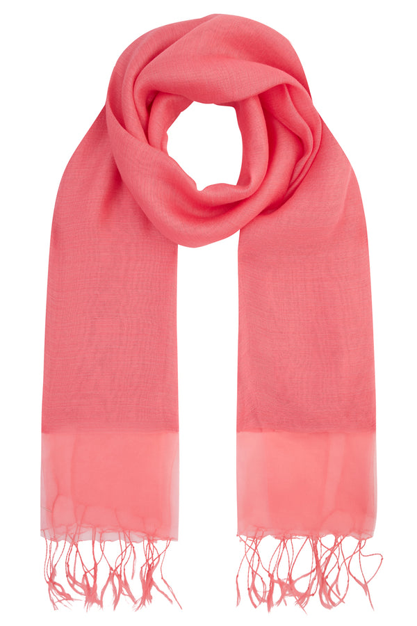 Wisteria Scarf, Pink