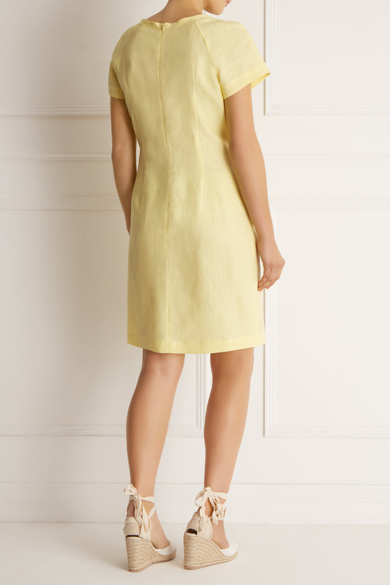 Santorini Dress, Lemon