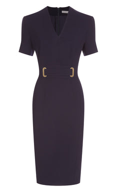 Amy Dress, Navy