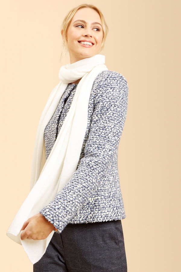 Quincy Scarf, Ivory