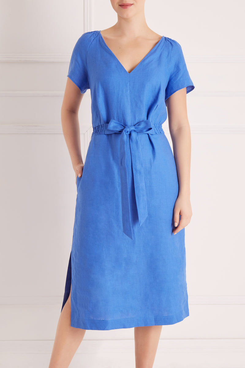 Stacey Dress Petite, Blue