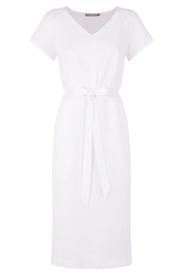 Stacey Dress Petite, White