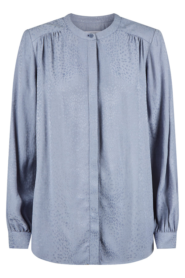 Solange Top, Dusty Blue