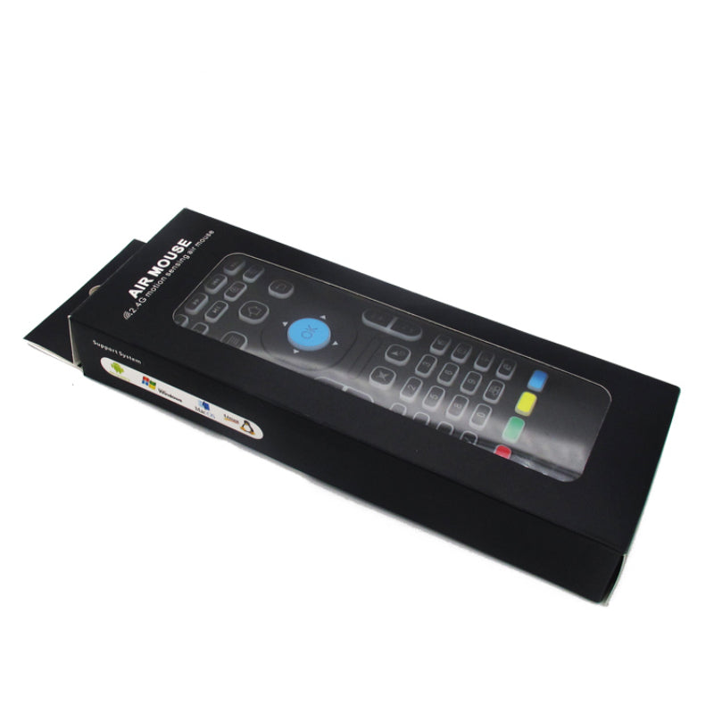 Air Mouse Backlit Remote Mini keyboard Wireless MX3 smart remote